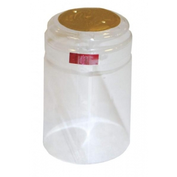 Termokahanev kapsel läbipaistev Ø30.5x50mm 1000tk