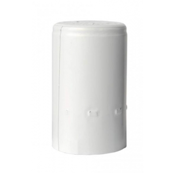 Alumiiniumkapsel valge 1000tk Ø30,5x50mm