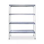 Alumiinium-riiul 1280x405x(H)1685mm