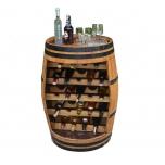 Tammevaadist Serveerimislaud Bottle bar 70x95cm