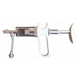 Käsidosaator-püstol 5-20ml, roostevaba manuaalne