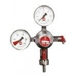Reduktor CO2 2-manomeetri ja reguleerklapiga