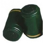 Termokahanev kapsel roheline-kuldne Ø30.5x50mm 1000tk
