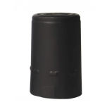 Alumiiniumkapsel must 100tk Ø30,5x50mm