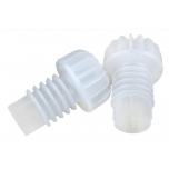 Shampusekork valge plast 100tk, aursulatatud