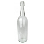 Klaaspudel 750ml läbipaistev 585g 1407tk flip-top