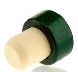 Sünteetiline T-kork 19mm 35/29mm 500tk, puit roheline