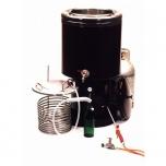 Pastörisaator 65l gaasi, läbivooluga, 100-300l/h