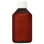 Plastpudel PET 250ml, BU0529 pruun