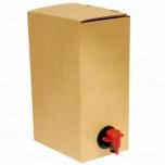 Säilituskoti karp 3l, hall ventiil otsal