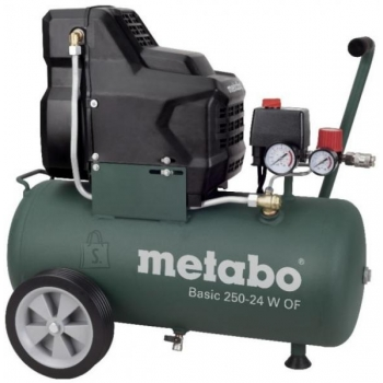 Kompressor Metabo Basic 25024 W OF, õlivaba