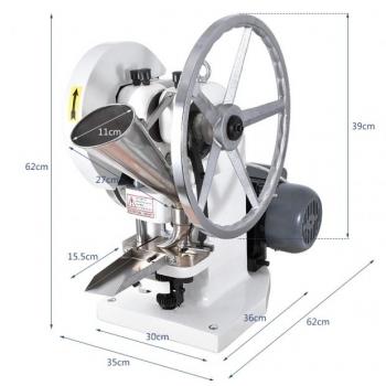 Tabletipress TDP 5 50kn/5000tk/h