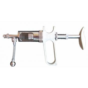 Käsidosaator-püstol 0-10ml, roostevaba manuaalne