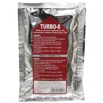 Kuivpärm toitainetega AlcoFerm Turbo-8 25l, alkohol
