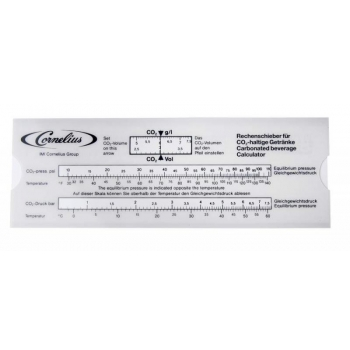 Kalkulaator CO2 g/l, lähtuvalt BAR/temperatuur