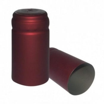 Termokahanev ehk termokapsel bordeaux Ø31x55mm 100tk