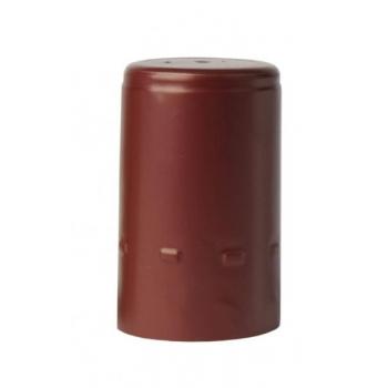 Alumiiniumkapsel burgundia 100tk Ø30,5x50mm