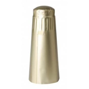 Alumiiniumkapsel kuldne Ø35x125mm 100tk