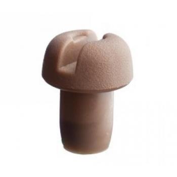 Shampusekork pruun plast 100tk, aursulatatud