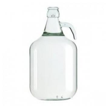 Klaaspudel 5l Demijohn, veinipudel