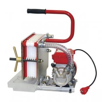 Filtrikorpus Rover 6-plaadiga + pump