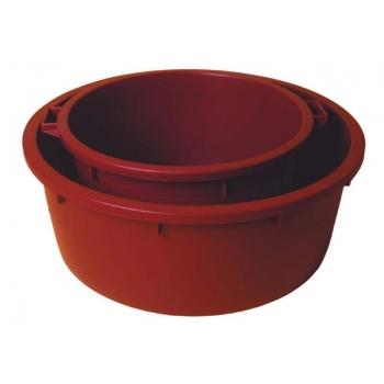 Toiduplastist vann 80l, plast  Ø65xH32cm