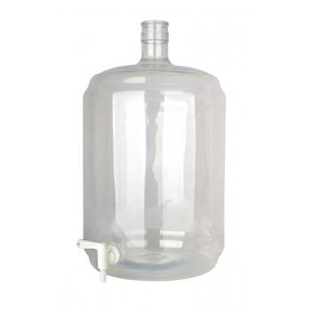 Plaastikpudel & veinipudel 23l, kraaniga