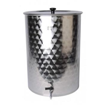 Õlle meski/filtreerimine 55l + ventiil + filter 1,5mm avadega