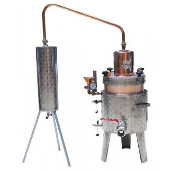 Destilaatorid 25L 3kw, elektriküttel