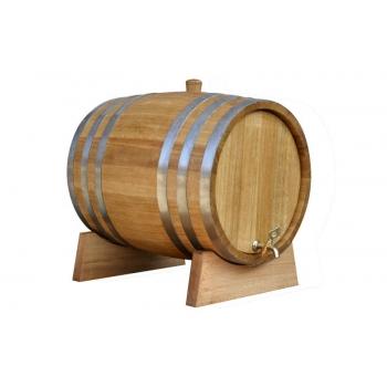 Tammevaat 100l alkoholile, aluse ja ventiiliga