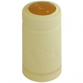 Termokahanev ehk termokapsel helekollane Ø31x60mm 100tk