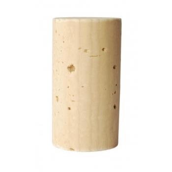 Veinikork 24x45mm 100tk kvalit.2, naturaalne silikoniseeritud