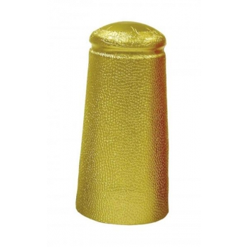 Alumiiniumkapsel kuldne Ø34x90mm 25tk