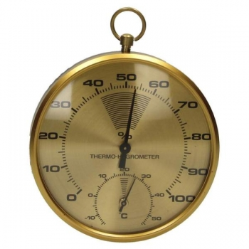 Termomeeter & hüdromeeter vaskkorpuses 10cm