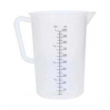 Mõõdukann 1l kalibrteeritud PP-plastik