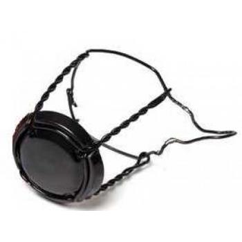 Shampusekorgi traat 26,5mm 1000tk, musta traadi ja mütsiga