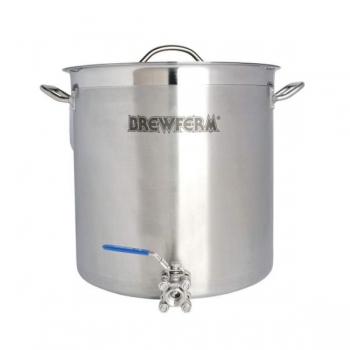 Pruulimiskatel/pott 35l Brewferm + ventiil