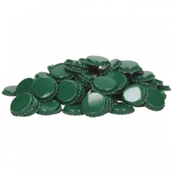 Kroonkork 29mm 100tk, roheline