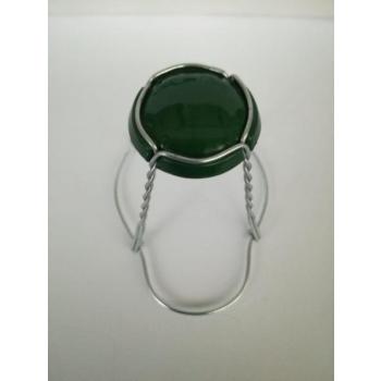 Vahuveini ja siidrikorgi traat 29,7mm must müts, metall traat 1000tk