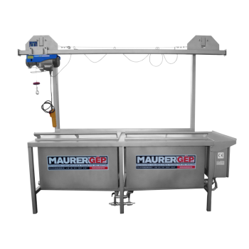 Pastörisaator-vann  MKPK 400l + korvid