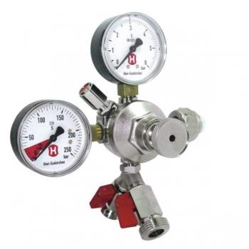 Reduktor 2'ne CO2 2-manomeetri ja reguleerklapiga