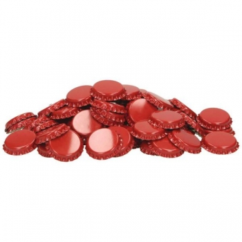 Kroonkork 26mm 1000tk, punane