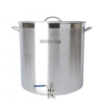Pruulimiskatel/pott 98l Brewferm + ventiil