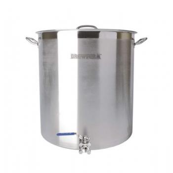Pruulimiskatel/pott 143l Brewferm + ventiil