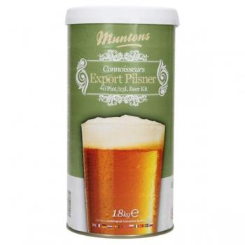 Õlleekstrakt, maltoosa kompl. Muntons Export Pilsner 1,8kg