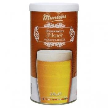 Õlleekstrakt, maltoosa kompl. Muntons Pilsner 1,8kg