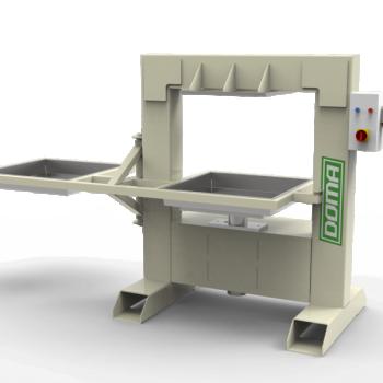 Pakkpress Doma DVP 1000kg/h 18T