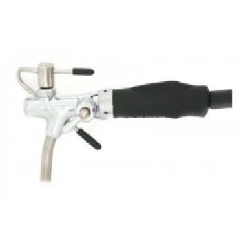 Õllekraan-püstol kompensaatori, voolikuga