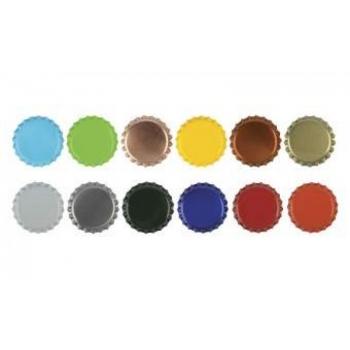 Kroonkork 26mm 1000tk (min.ost 220 000tk) logoga, erinevad värvid