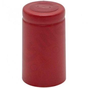 Termokahanev ehk termokapsel punane Ø33x60mm 100tk